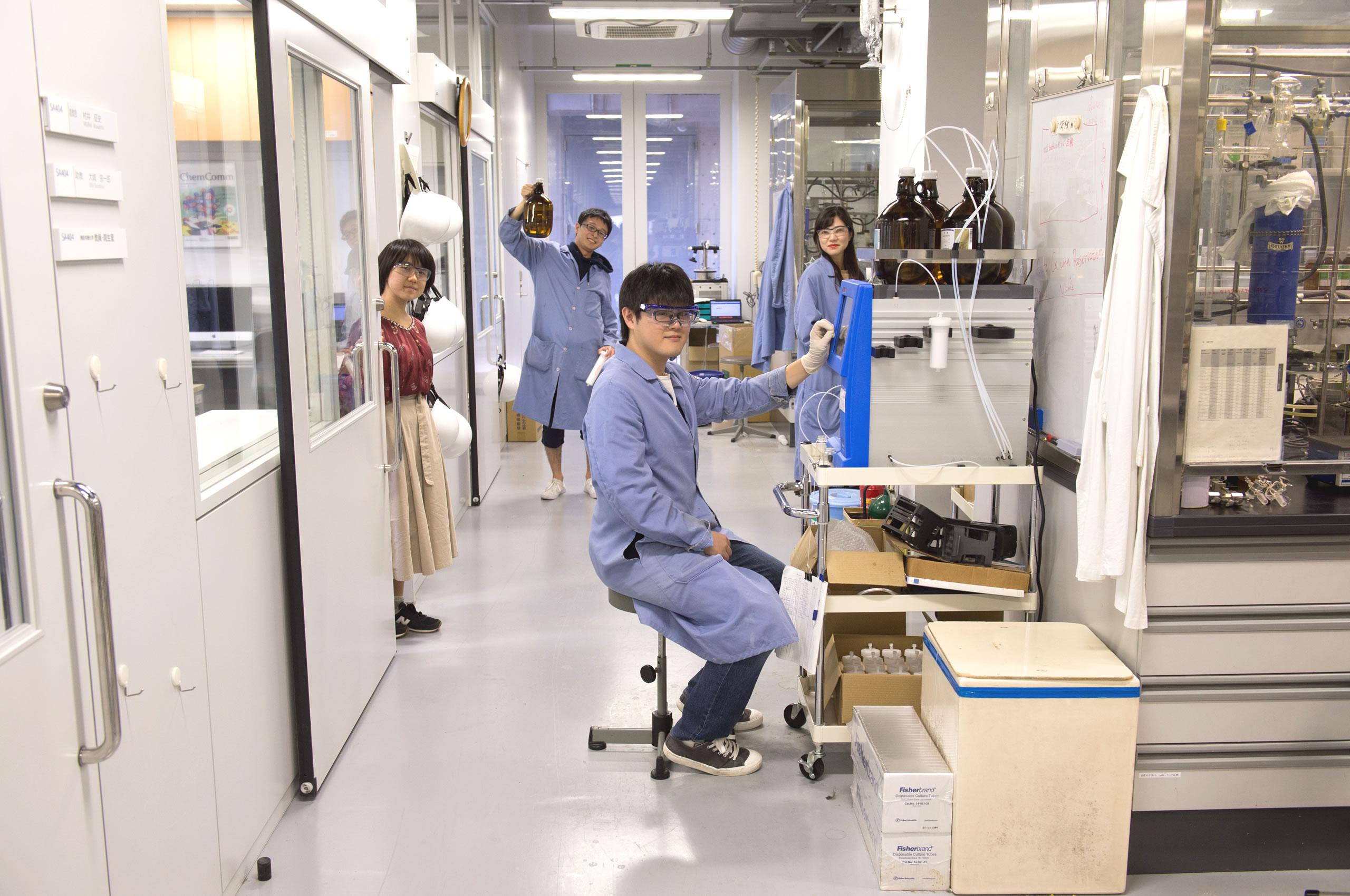 機能有機化学研究室(山口研究室) | 名古屋大学大学院理学研究科
